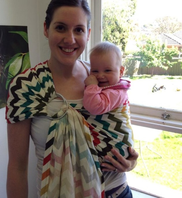 Sewing: DIY Ring Sling - For Babywearing - Young Catholic Mums ...