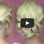 3 Romantic, 5 minute hair styles
