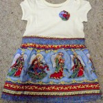 Advent Calendar 25: Toddler Christmas dress