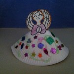 Advent Day 11 - How To Make A Paper Plate Angel