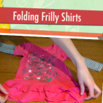 Child Proof Folding: Frilly Tops
