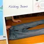 Folding: Jeans