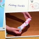 Child Proof Folding: Socks
