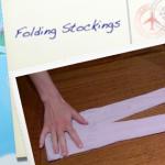 Child Proof Folding: Stockings