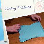 Child Proof Folding: T-Shirts