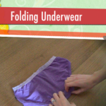 Child Proof Folding: Underwear