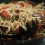 Vegetarian Noodles With Sweet Soy Sauce