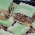Double Choc Mint Slice