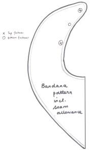 bandanna bib eshaw