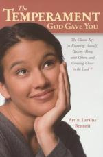The Temperament God Gave You: The Classic Key to Knowing Yourself, Getting Along with Others, and Growing Closer to the Lord Book Cover