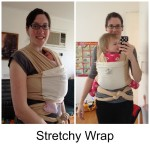 Babywearing Part Three – Stretchy Wraps