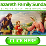 Upcoming Event: Nazareth Family Sunday, Melbourne