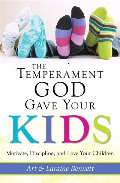 The Temperament God gave your kids Book Cover