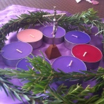 Lent week 1: Create A Lenten Wreath