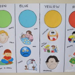 Children's Colour Chart - Helping To Understand Feelings