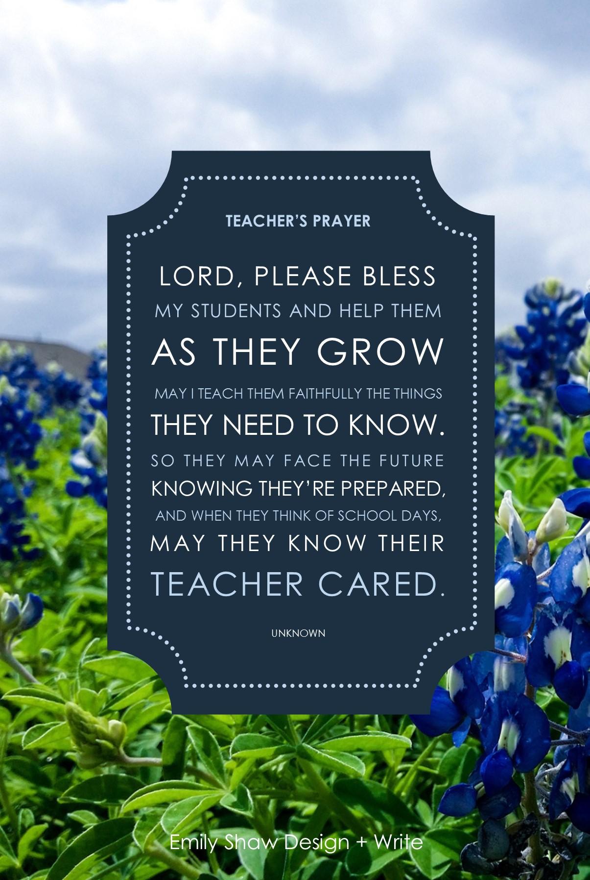 diy teacher u0026 39 s prayer gift