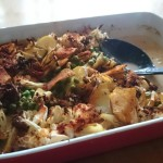 Easy, Tasty, Dairy-Free Potato And Cauliflower Bake