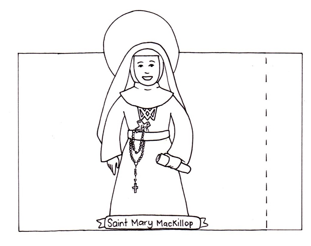 Mary Mackillop Craft Young Catholic Mums Young