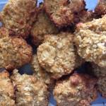 Chickpea Oat Cookies