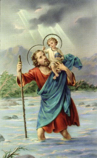 st christopher - saint of the week
