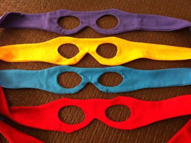 Diy Dress Ups Ninja Turtle Masks Young Catholic Mums Young Catholic Mums